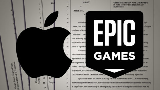 Epic v. Apple update