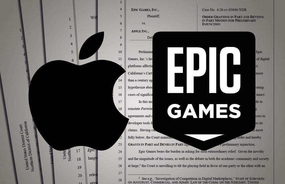 Epic v. Apple update